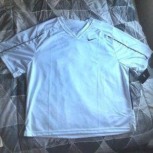 NWT Nike soccar shirt, white lacross workout shirt